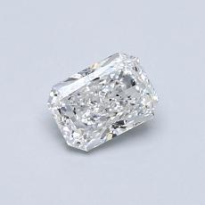 Recommended Stone #4: 0.51-Carat Radiant Cut Diamond