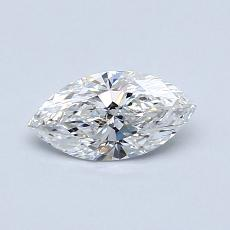 0.52-Carat Marquise Diamond Very Good E SI1