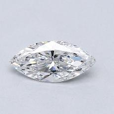 Recommended Stone #2: 0.37-Carat Marquise Cut Diamond