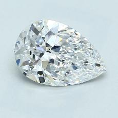 2.05 Carat 梨形 Diamond 非常好 D VS1