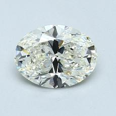 Recommended Stone #2: 0.90-Carat Oval Cut Diamond
