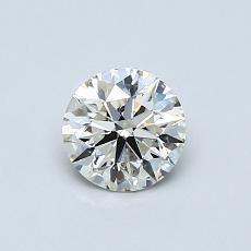0.60 Carat 圆形 Diamond 理想 K SI2