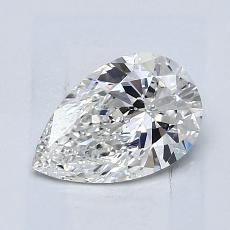 Recommended Stone #4: 0,93-Carat Pear Cut Diamond