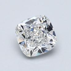 1.04 Carat 垫形 Diamond 非常好 F VVS1