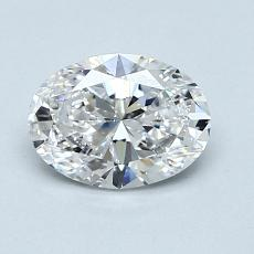 1.01-Carat Oval Diamond Very Good E SI2