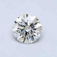 0,70-Carat Round Diamond Ideal I VS2