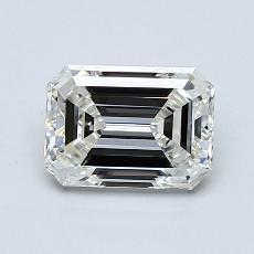 推荐宝石 1:0.91 克拉祖母绿切割钻石