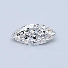0.30-Carat Marquise Diamond Very Good F SI1