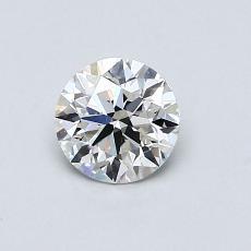 0.63 Carat 圓形 Diamond 理想 H VS1