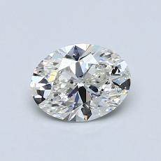 0,70-Carat Oval Diamond Very Good G VS2
