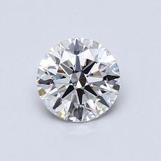 0,70 Carat Rond Diamond Idéale G VVS2