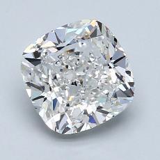 2.01-Carat Cushion Diamond Very Good E VS2