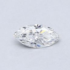 0,32-Carat Marquise Diamond Very Good E VS1