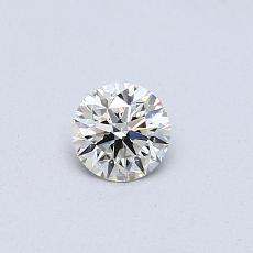 0.30 Carat Redondo Diamond Ideal J VVS1