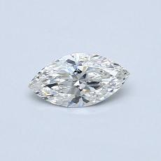 Recommended Stone #1: 0.31-Carat Marquise Cut Diamond