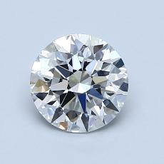 1.02-Carat Round Diamond Ideal I VS2