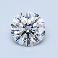 推荐宝石 3:1.08克拉圆形切割钻石