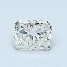 Recommended Stone #3: 0.63-Carat Radiant Cut Diamond