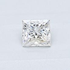 Recommended Stone #4: 0.36-Carat Princess Cut Diamond