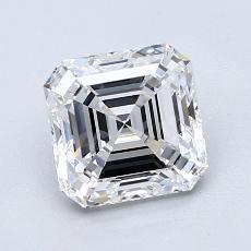 Recommended Stone #2: 1.58-Carat Asscher Cut Diamond