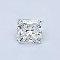 0.51-Carat Princess Diamond Very Good F VS2