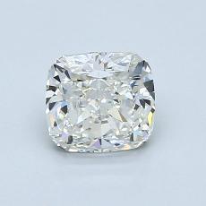 1.05 Carat 垫形 Diamond 非常好 H IF
