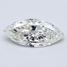 Recommended Stone #3: 0,72-Carat Marquise Cut Diamond