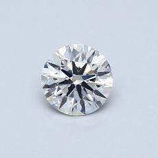 0.44 Carat 圓形 Diamond 理想 F SI1