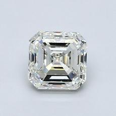 1.00 Carat 上丁方形 Diamond 良好 K SI1