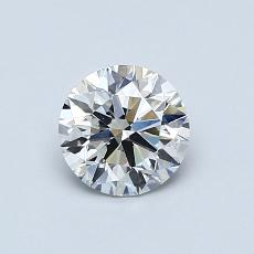 0.71-Carat Round Diamond Ideal E VS2