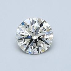 0,70 Carat Rond Diamond Idéale J VS1