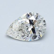 Target Stone: 0.95-Carat Pear Cut Diamond
