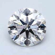 1.80-Carat Round Diamond Ideal G VS2