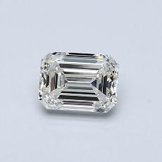 Recommended Stone #3: 0,55-Carat Emerald Cut Diamond