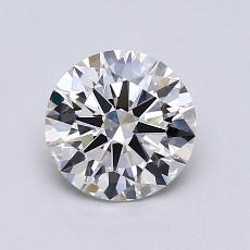 1,01-Carat Round Diamond Ideal I VVS1