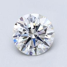 1.20 Carat 圆形 Diamond 理想 E VVS1