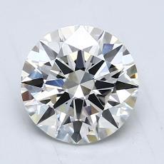 1.20 Carat Redondo Diamond Ideal H VVS2