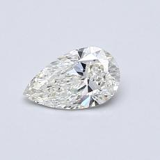 0.40-Carat Pear Diamond Very Good H SI1
