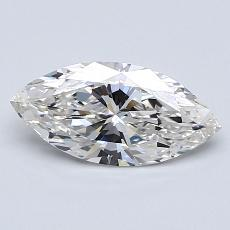 Recommended Stone #3: 0,90-Carat Marquise Cut Diamond