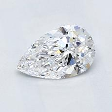 Recommended Stone #1: 0.67-Carat Pear Cut Diamond