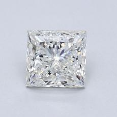 1.02 Carat 公主方形 Diamond 非常好 I VS1