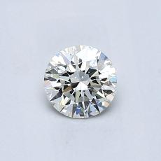 Recommended Stone #3: 0,45-Carat Round Cut Diamond