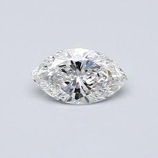 0,31-Carat Marquise Diamond Very Good E VS2
