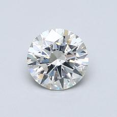 推荐宝石 3:0.71克拉圆形切割钻石