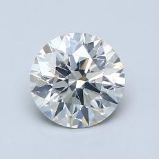 1.01-Carat Round Diamond Ideal I SI2