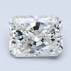 2,02-Carat Radiant Diamond Very Good H VVS2
