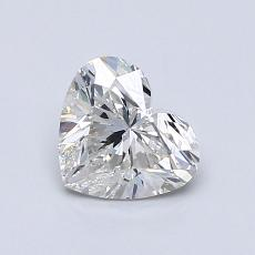 Recommended Stone #2: 0.81-Carat Heart Cut Diamond