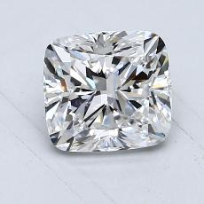 1,02-Carat Cushion Diamond Very Good E VVS2
