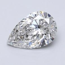 Recommended Stone #3: 1.20-Carat Pear Cut Diamond