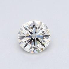 Recommended Stone #1: 0.54-Carat Round Cut Diamond